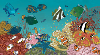 Great_barrier_reef, coral_reef, tropical_fish